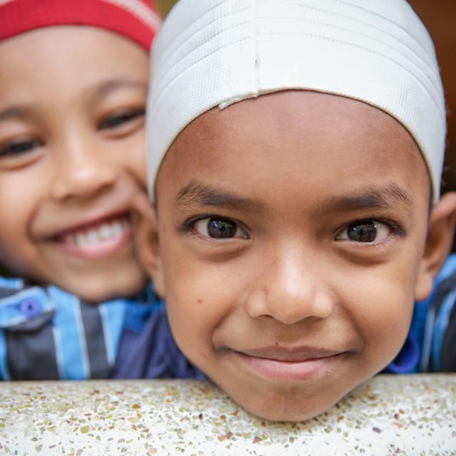 """School in Bangladesh XIII"" stock image"