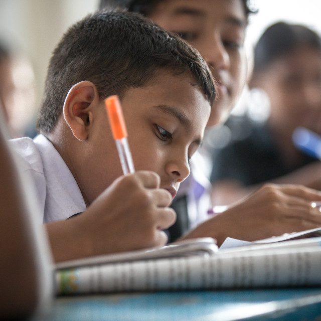 """School in Bangladesh XVII"" stock image"