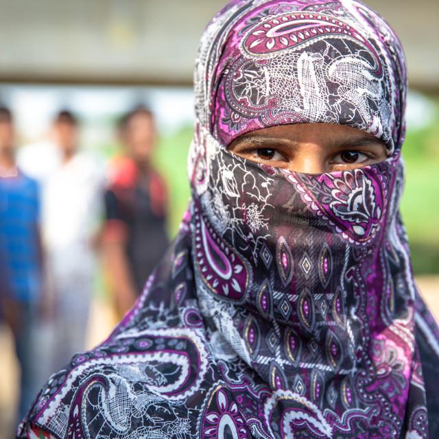 """Street life in Bangladesh I"" stock image"