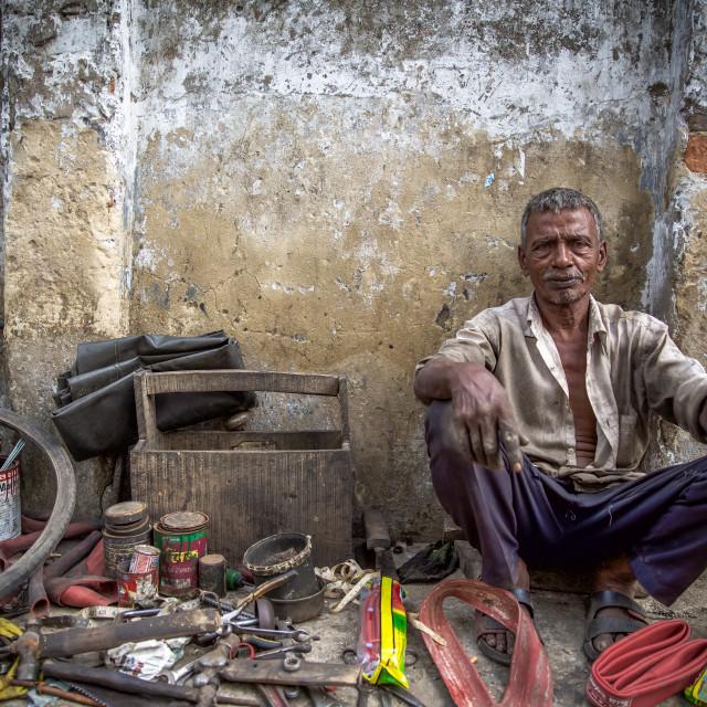 """""""Street life in Bangladesh XIV"""" stock image"""