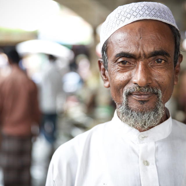 """Street life in Bangladesh XIX"" stock image"