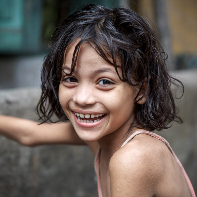 """Children of Bangladesh II"" stock image"