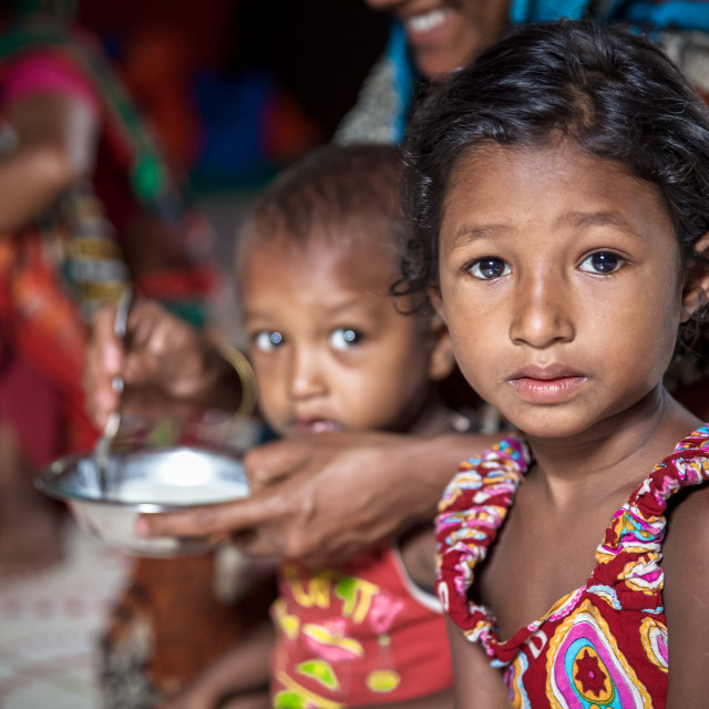 """Children of Bangladesh IV"" stock image"