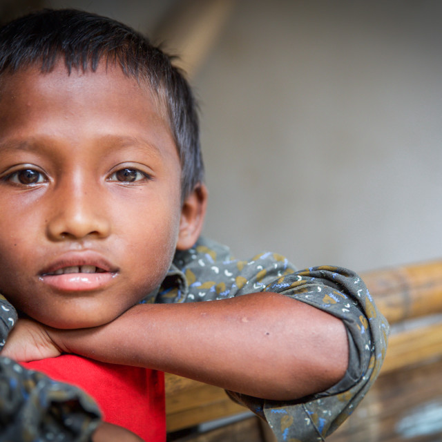 """""""Children of Bangladesh VIII"""" stock image"""
