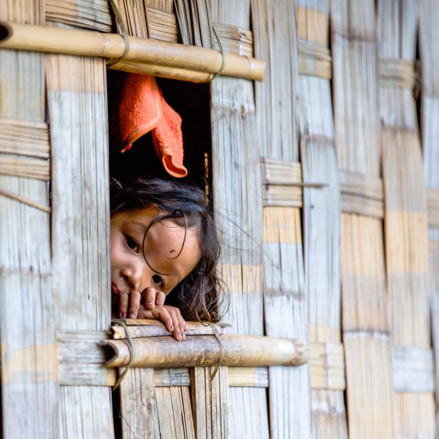 """""""Children of Bangladesh XI"""" stock image"""