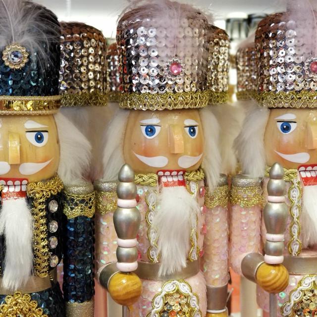 """Nutcracker Figurines"" stock image"