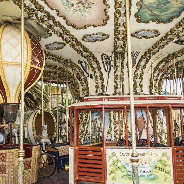 """""""Merry go-round"""" stock image"""