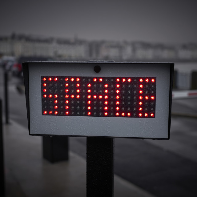 """Space sign"" stock image"