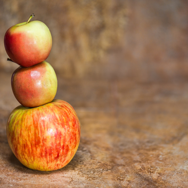 """Apple Stack"" stock image"