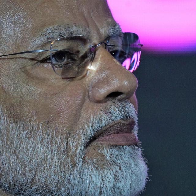 """Narendra Modi"" stock image"