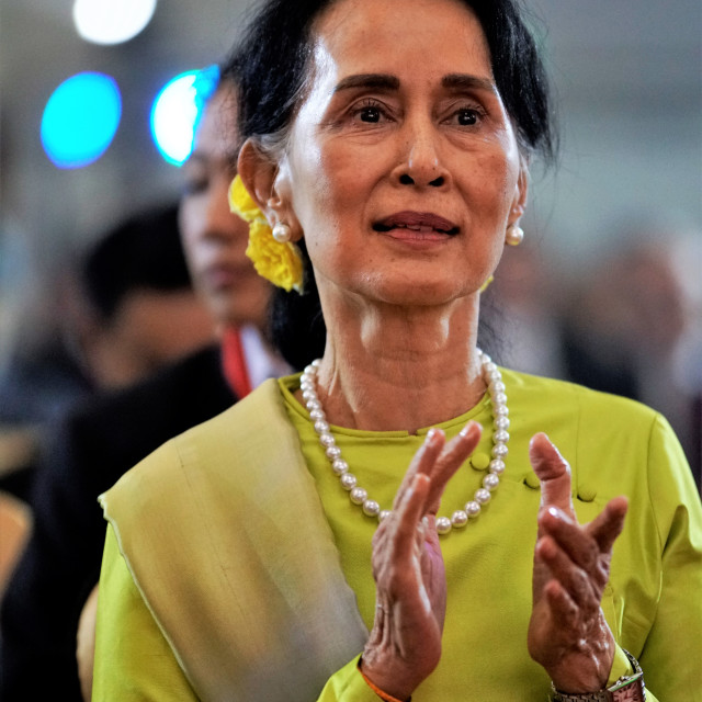"""Daw Aung San Suu Kyi"" stock image"
