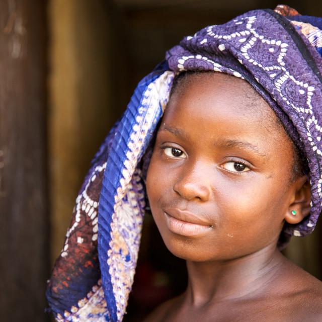 """Children and Childhood in Sierra Leone II"" stock image"