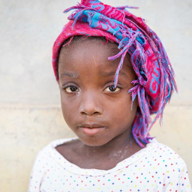 """Children and Childhood in Sierra Leone IX"" stock image"