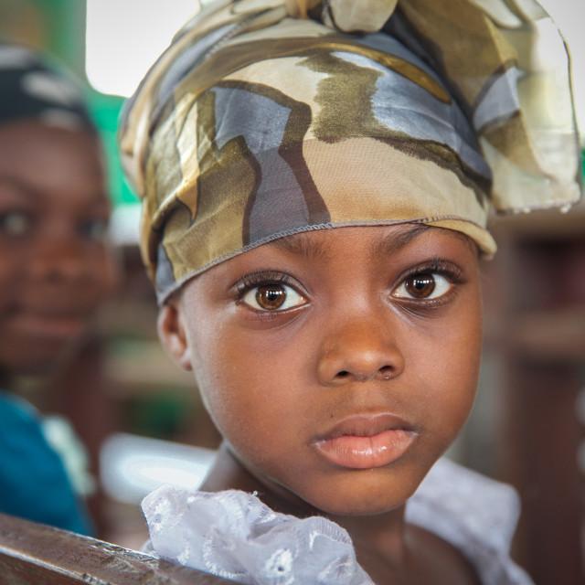 """Children and Childhood in Sierra Leone XVII"" stock image"