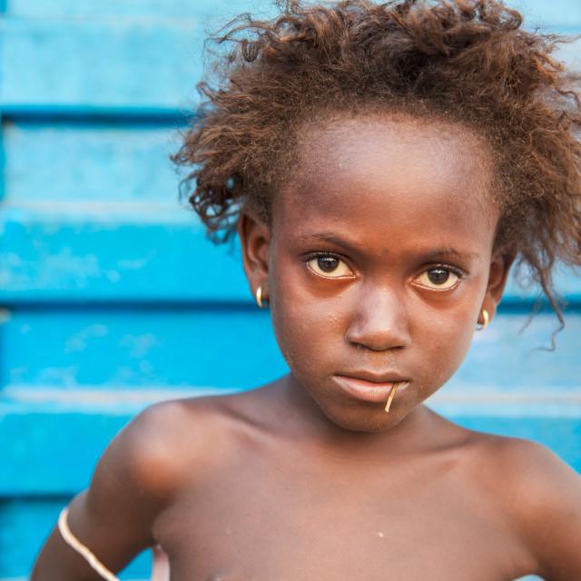 """Children and Childhood in Sierra Leone XXVI"" stock image"