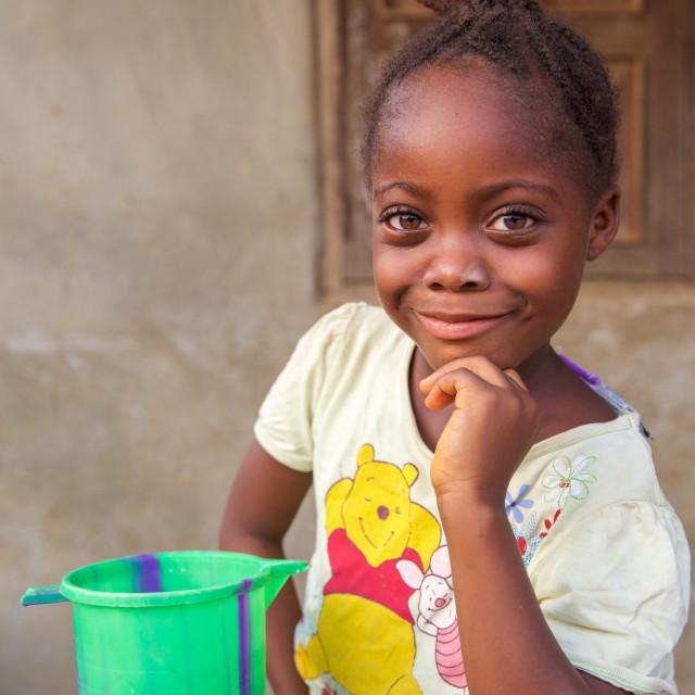 """Children and Childhood in Sierra Leone XXVIII"" stock image"