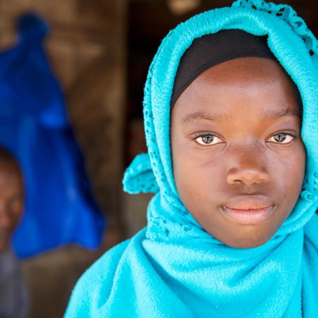 """Children and Childhood in Sierra Leone XXXII"" stock image"