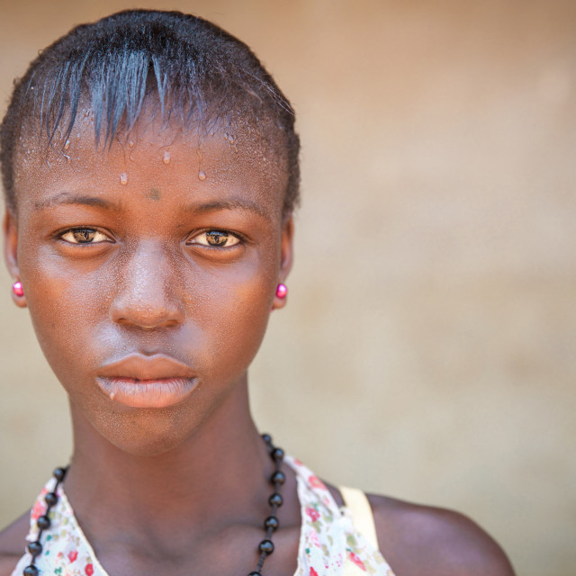 """""""People and Faces of Sierra Leone XXXIII"""" stock image"""