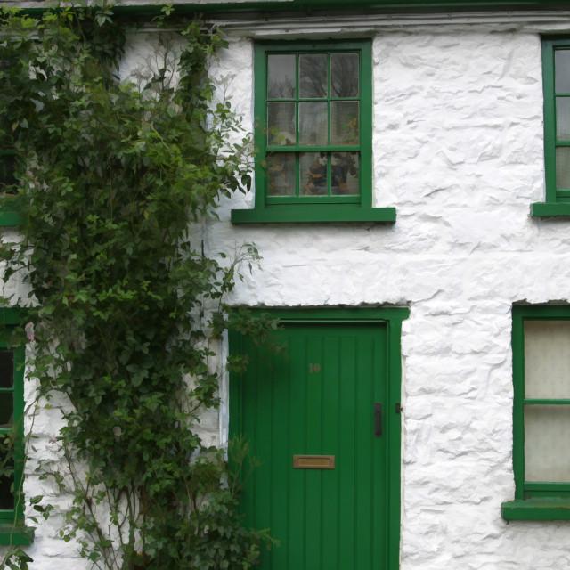 """""""House in Glenoe"""" stock image"""