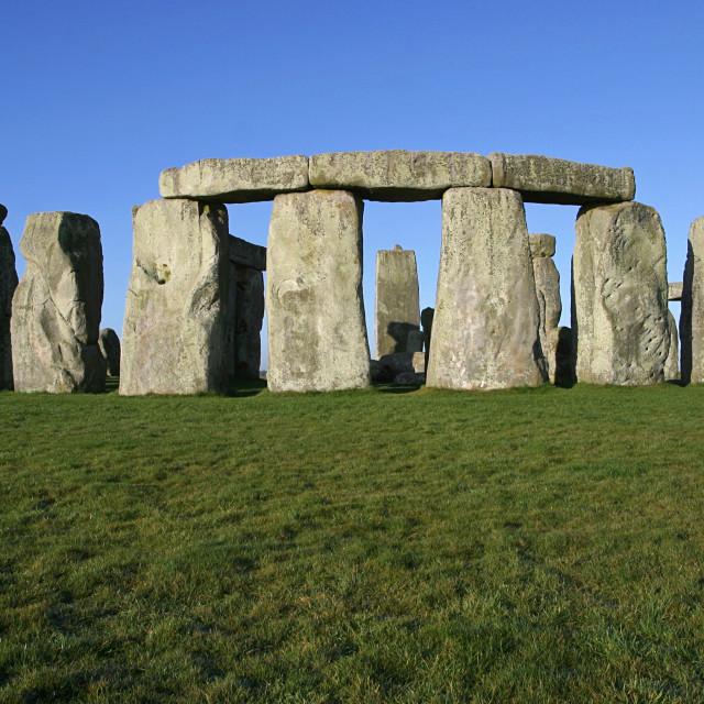 """""""Stonehenge Stone Circle"""" stock image"""