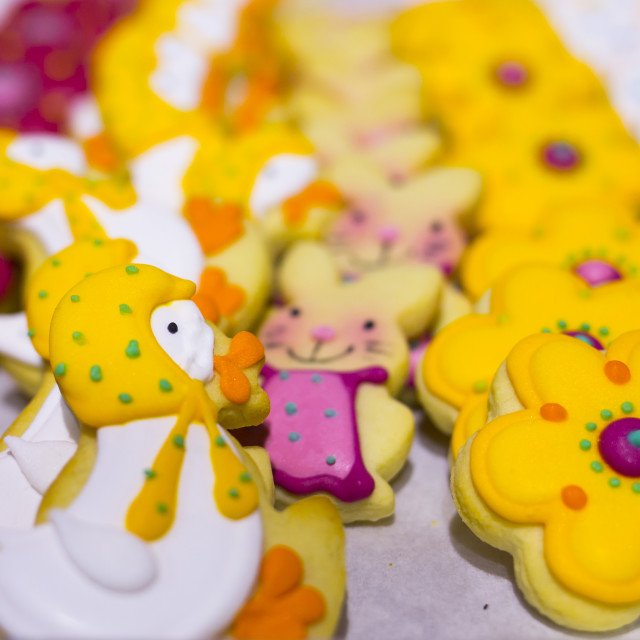 """""""Easter sweet candies Duck"""" stock image"""