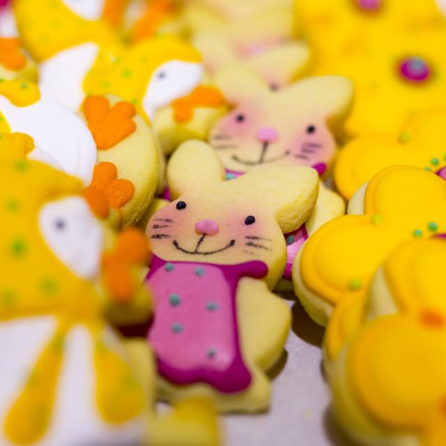 """Easter sweet candies Rabbit"" stock image"