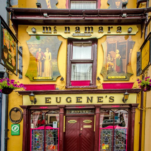 """Taditional Irish pub"" stock image"