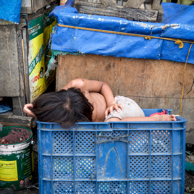 """Children and Childhood on the Philippines V"" stock image"
