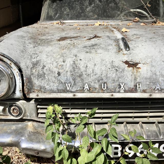 """A rusty Vauxhall"" stock image"