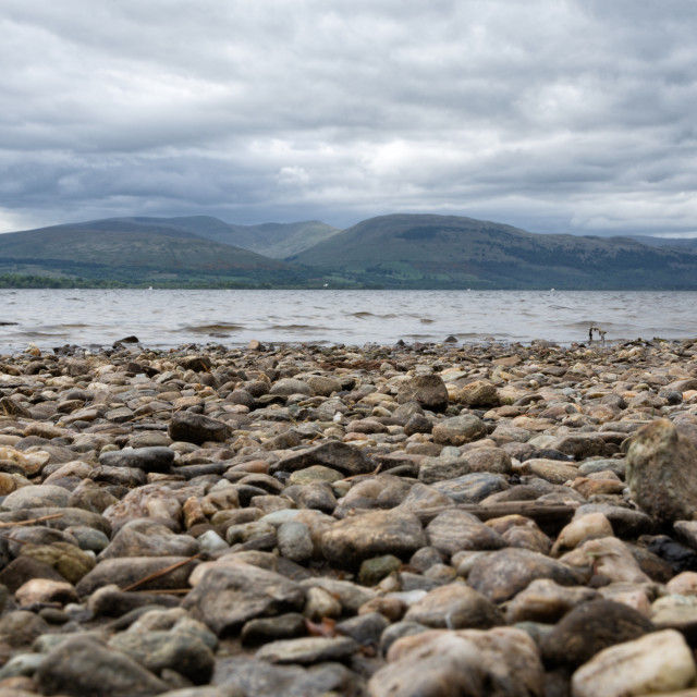 """Banks of Loch Lomond"" stock image"