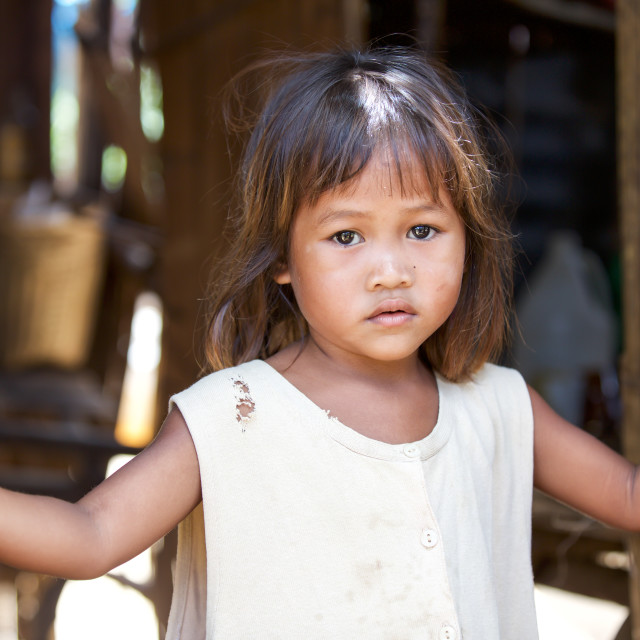 """""""Children and Childhood on the Philippines XXXIX"""" stock image"""