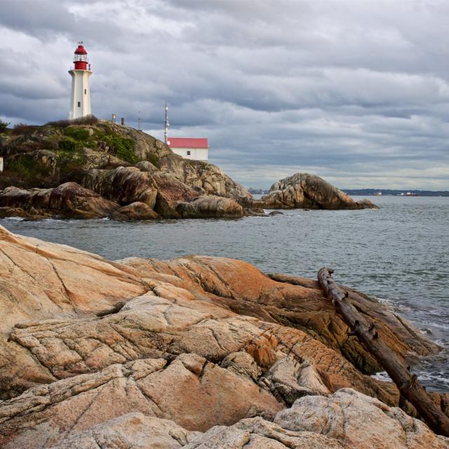 """Point Atkinson Lighthouse"" stock image"