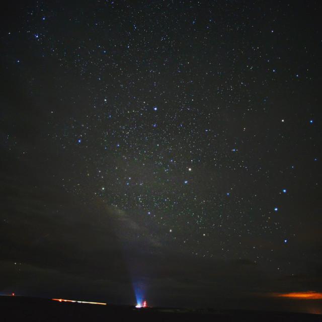 """South Dakota Skies"" stock image"