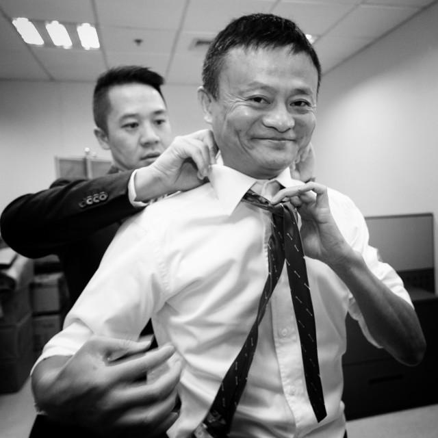 """""""Jack Ma"""" stock image"""