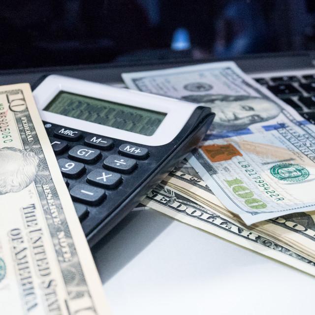 """Money game"" stock image"