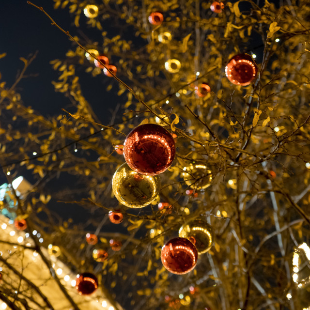 """""""Christmas and new year background"""" stock image"""