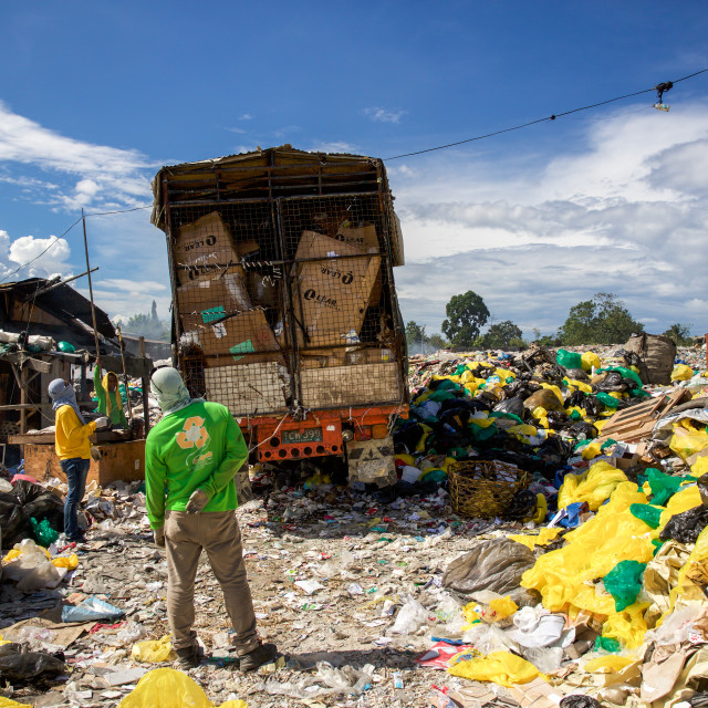 """Dump City in Cebu V"" stock image"