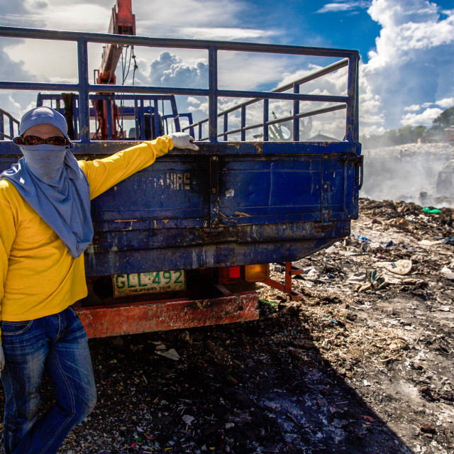 """Dump City in Cebu XI"" stock image"