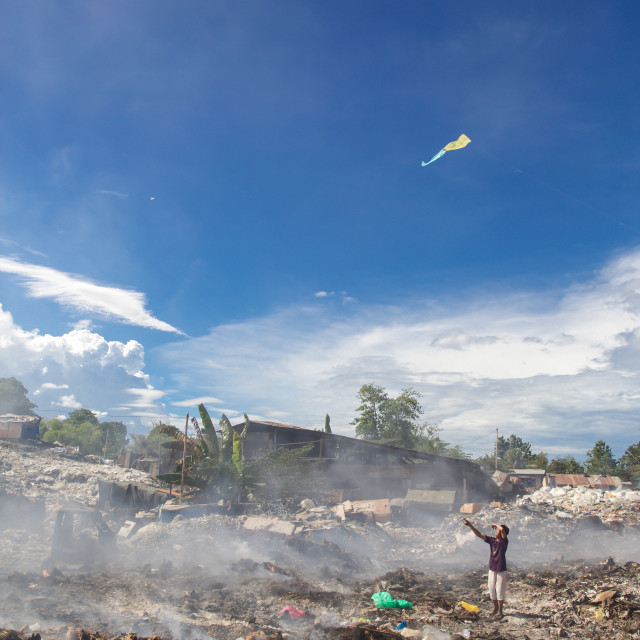 """Dump City in Cebu XVII"" stock image"