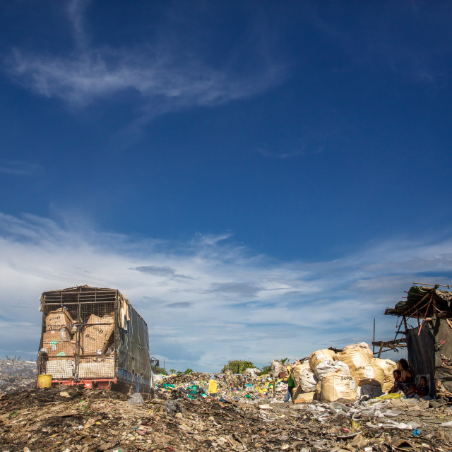 """Dump City in Cebu XLIV"" stock image"