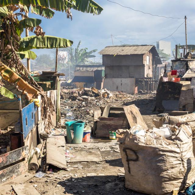 """Dump City in Cebu XLIII"" stock image"