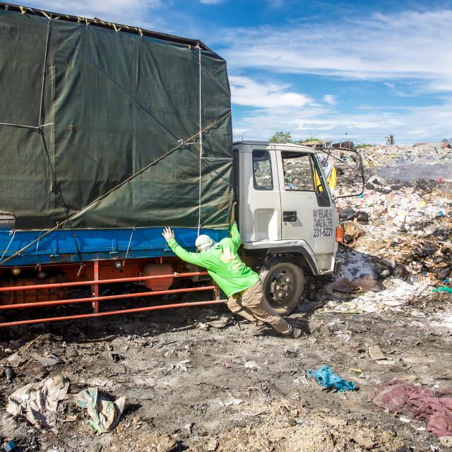 """""""Dump City in Cebu XLV"""" stock image"""