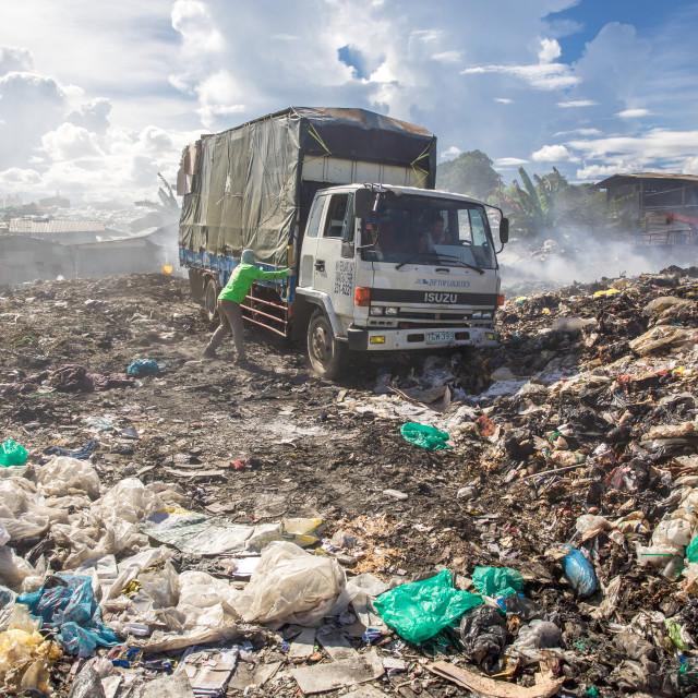 """""""Dump City in Cebu XLVI"""" stock image"""