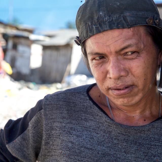 """""""Dump City in Cebu XLVIII"""" stock image"""