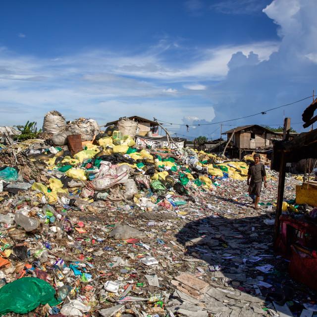 """Dump City in Cebu XLVII"" stock image"