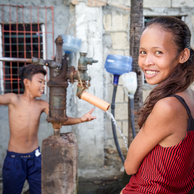 """""""People and Faces of Cebu City IV"""" stock image"""