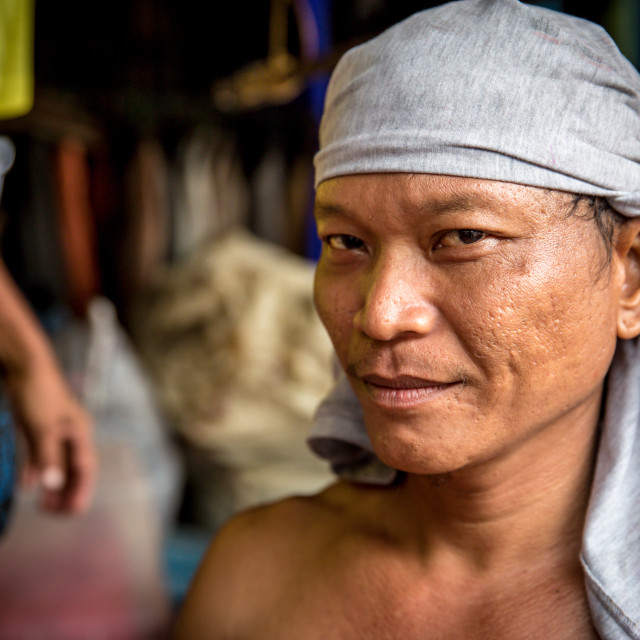 """""""People and Faces of Cebu City III"""" stock image"""