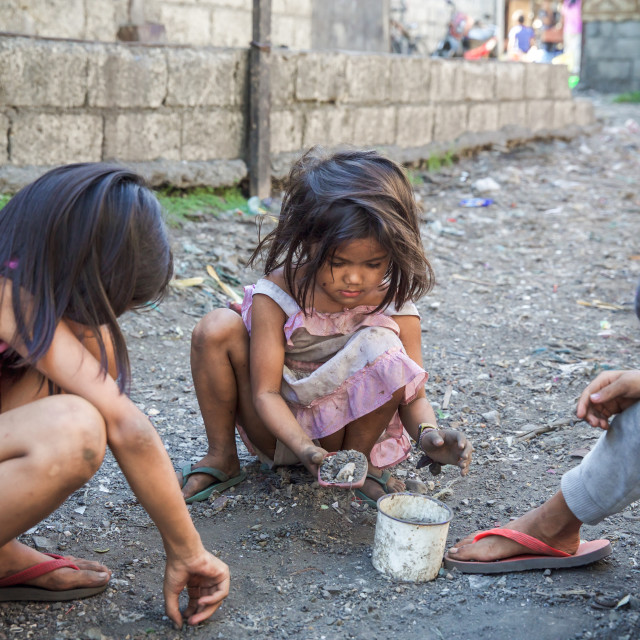 """""""People and Faces of Cebu City VII"""" stock image"""