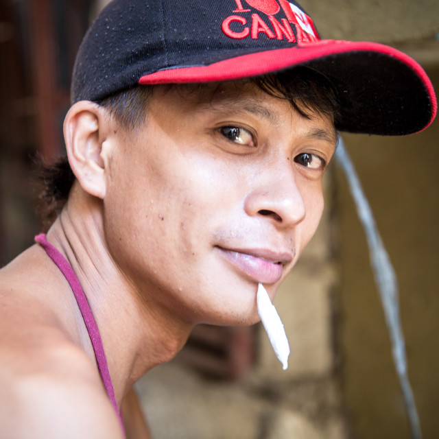 """""""People and Faces of Cebu City VIII"""" stock image"""