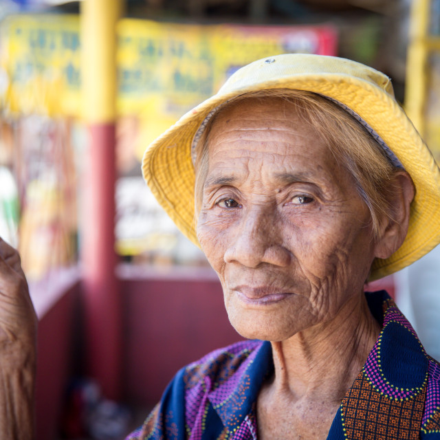 """""""People and Faces of Cebu City X"""" stock image"""